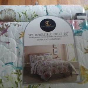 Spirit Linen Home 3pc quilt set